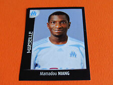 N°233 NIANG OLYMPIQUE MARSEILLE OM PANINI FOOT 2008 FOOTBALL 2007-2008