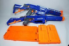 Nerf N-Strike Elite Retaliator toy gun lot of 2 with barrel and clips