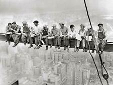Lunch atop a Skyscraper - Men on Beam Laminated Poster (24.5x18.5)