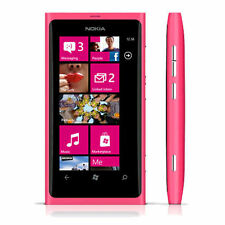 Nokia Lumia 800 Pink 16 GB *Unlocked* Windows- *excellent Condition*for parts