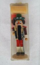 Vintage Steinbach German Volkskunst Christmas Nutcracker - Boxed 5.5""