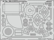 Eduard PE 48790 1/48 Mikoyan MiG-21PFM accessories Eduard