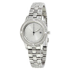 Citizen Silhouette Crystal Eco-Drive Diamond Stainless Steel Ladies Watch