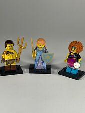LOT Lego Series 17 Minifigures 71018 Roman Gladiator Princess Dance Instructor