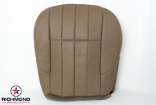 1999-2000 Jeep Grand Cherokee Limited -Driver Side Bottom Leather Seat Cover Tan