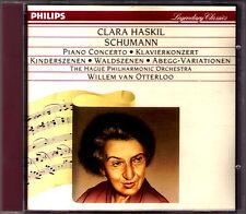 CLARA HASKIL schumann piano concerto enfants scènes Waldszenen Abegg Variations CD