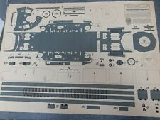 WW2 Mittlerer Schützenpanzerwagen  PAPER MODEL  original  VERY LARGE   PANZER