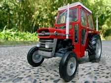 MASSEY FERGUSON 135 TRACTOR WITH CAB DIECAST EXACT SCALE 1/16 NEW