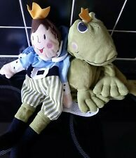"""Ikea Frog Prince Soft Toy - Turn into each other. 16"""" Soft Toy"""