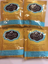 4~ HASK Argan Oil from Morocco Repairing Deep Conditioner Hair Treatment 1.75 oz
