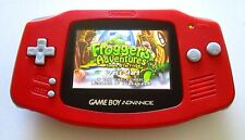 Gameboy Advance w/ AGS-101 Brighter Screen Backlit Red - Nintendo GBA Game Boy