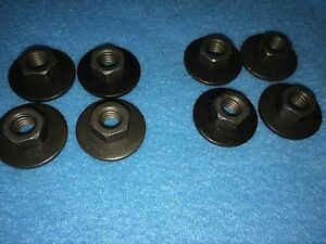 Mopar Bucket Seat Track Nuts Set of 8 NOS Made in Detroit NEW