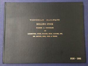 Victorian Railways Rolling Stock Branch Diagrams 1926 - 1961 VR