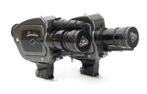 2x Beaulieu S2008 with Angenieux Zoom Type 8x8B 1.9/8-64mm f/1.9 Movie Camera