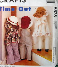 "Time Out cloth doll pattern Faye Wine 36"" life size"