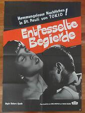 Erotik Plakat ENTFESSELTE BEGIERDE Saburo Kyodo Langenfass 68