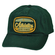 240ee3fd1feae2 MLB American Needle Oakland Athletics Relaxed Snapback Hat Cap Slouch Green