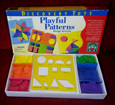 Discovery Toys Playful Patterns Design Activity Geometric Shapes Colors 1996