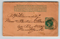 Trinidad Victorian Postal Wrapper to New York (II) - Z13712