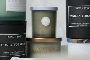 Sand + Fog Scented Candles Various Sizes Flat Rate Shipping!