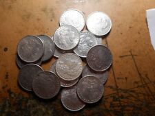 (20) Pre 1921 Morgan Dollar/Lot/Mixed Date 90% Silver/some better coins