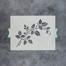 Vine Stencil - Durable & Reusable Mylar Stencils