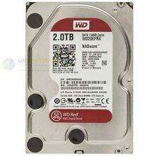 "Western Digital Caviar Red 2TB SATA 6Gb/s di cache 64MB Desktop NAS a 3.5"" HARD DISK"