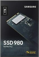 Samsung - 980 1TB SSD PCIe 3.0 M.2 NVMe Internal Gaming Solid State Drive - 2021