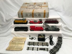 Marx No 33962 Freight Set 1998 UP Diesel Switcher  Union Pacific  Boxed OB