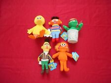 Big Bird, Zoey, Bert, Ernie, Oscar Plush Sesame Street Applause 6 inch with tag