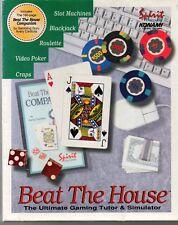 BEAT the house il TUTOR estremo per videogame & Simulatore per i sistemi DOS 3.5 HD Disco