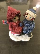 Very Gently Used Ragged Ann & Andy By Enesco