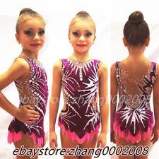 rhythmic gymnastics leotard.Acrobatic twirling competition dance dress RG custom
