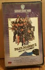 Vintage POLICE ACADEMY 2 : Their First Assignment VHS BIG BOX