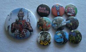 Iron Maiden Job Lot  10 x Badges  #8