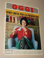 OGGI=1964/9=SOPHIA LOREN COVER=MASAROLIS TORREANO=VINADIO=SANDRO MAZZINGHI=