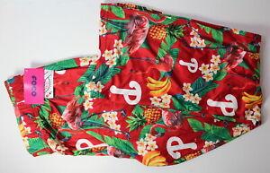 Philadelphia Phillies Men's XL Hawaiian Floral Pineapple MLB SOFT Pajama Pants