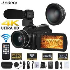 WiFi 4K Ultra HD 24MP 30X ZOOM Night Vision DV Digital Video Camera Camcorder DV