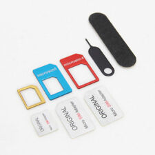 5 IN 1 Nano SIM Card to Micro Standard Adapter Cutter Converter Set for Phone