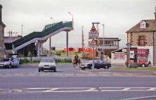 PHOTO  HEST BANK RAILWAY STATION EXTERIOR LANCASHIRE. 1998 LNWR WCML