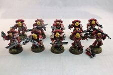 Warhammer Space Marines Blood Angels Death Company Well Painted