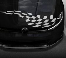 Auto Aufkleber Streifen Motorhaube Racing Flag   Wunschgröße bis 30cm oder 150cm