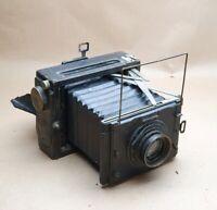Zeiss Ikon Nettel 870/9 1927-1937. Focal plane press camera. 10cm x 15 cm film