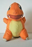 "Pokemon Charmander Doll Plush Nintendo 1999 8"" Vintage Stuffed Bath Suction VHTF"
