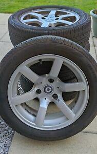 Smart Roadster 452 / Fortwo 450 Genuine Spinline alloy wheels