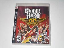Guitar Hero: Aerosmith (Sony Playstation 3, 2008)    **COMPLETE**