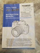 Genuine English Olympus E-620 Instruction Manual Complete in Very Good Condition