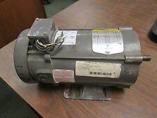 Baldor DC Motor CD3450 0.5HP 1750RPM 56C Frame ARM:90V 5.2A Field:100/50V 0.5/1A