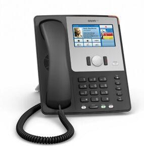 Snom 870 VoIP SIP Gigabit Phone with UK Power Supply 2193 Black Grade A