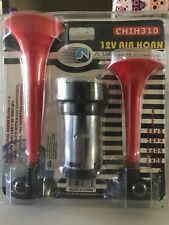 Pit Bull 12V Dual Air Horn Super Loud! Nip Chih310